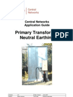 Application Guide - Primary Neutral Earthing