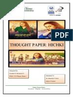 Hichki_tought_paper