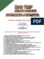 LAS 21 TESIS DE LA VERDADERA DOCTRINA CRISTIANA