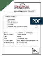 CNC REPORT- KUBHERAN 23DKM18F2033