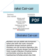 Ekstraksi Cair-cair kelompok 3