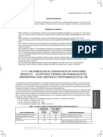 0691-0692 [1111] MICROBIOLOGICAL EXAMINATION OF NONSTERILE PRODUCTS - ACCEPTANCE CRITERIA FOR PHARMACEUTICAL PREPARATIONS AND SUBSTANCES FOR PHARMACEUTICAL USE