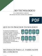 PROCESO TECNOLOGICO DEL CONCRETO