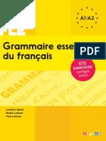 100% FLE - Grammaire essentielle du français A1 A2.epub