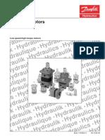 Hydraulic Motor Danfoss