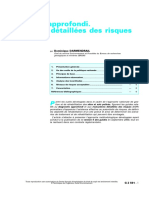 Diagnostic approfondi-evaluation des risuqes