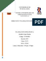 Resumen 1- DIRECCIÓN Y PLANEACIÓN ESTRATÉGICA