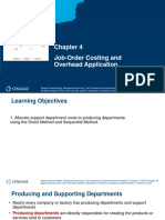 Job-Order Costing and Overhead Application