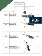 specification of rebound hammer