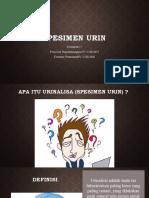 Spesimen Urin