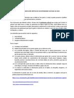 TRIPTICO PATROMONIO CULTURAL