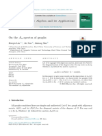 On the Aα-spectra of graphs.pdf
