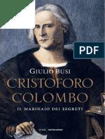 Busi, Giulio, Cristoforo Colombo