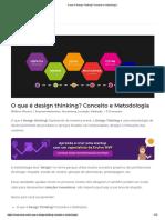 O que é Design Thinking_ Conceito e metodologia