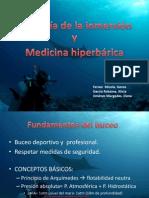 GRUP 4_FISIOLOGÍA DE LA INMERSIÓN Y MEDICINA HIPERBÁRICA
