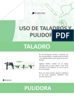 TALADRO PULIDORA