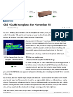 CBS HQ AM template_ For November 18