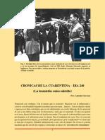 Cronicas de Cuarentena Dia 248 - La transición como suicidio
