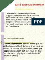 Le Processus ou circuit d'approvisionnement - Copie.ppt