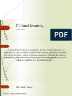Ahmed Mansour Cultural Learning.pptx