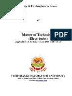 M.Tech. new1 syllabus