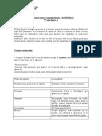 Evaluación libro 7° A SUBTERRA iker