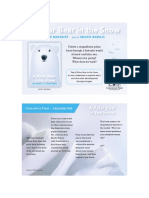 A Polar Bear in the Snow Teacher Tip Card