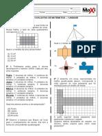 Atividade Avaliativa Matemática e Português