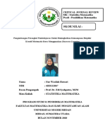CJR STATISTIKA MATEMATIKA_NUR WASILAH HAWARI_4183111067_PSPM B 2018