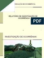 MODELO DE RELATORIO DE INVESTIGAÇÃO DE OCORRÊNACIA draft 2017