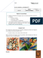 Guia de contenidos y actividades Nº 1, quinto basico