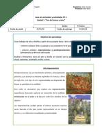 Guia de contenidos y actividades Nº 2, quinto basico