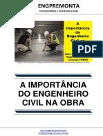 A Importancia Do Engenheiro Civil Na Obra