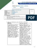 EXAMEN PARCIAL DE derecho penal especial