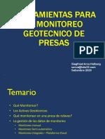 Automatización -  monitoreo geotecnico de presas