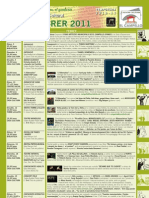 Programación Cultural Febrero 2011
