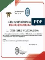 CURSO DE ADMINISTRATIVO Y PAS