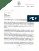 Carta de Miguel Romero a Carmen Yulín