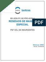 ANEXO 48 MX-SDI0-PC-SE-PRO-0020-A Residuos de Manejo Especial