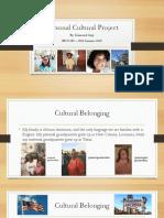 edu 280 portfolio artifact 1 personal cultural project