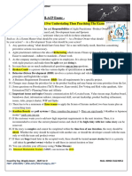 Very Important Notes For PMI-ACP Exam