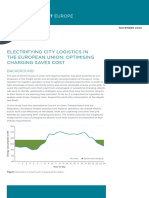 Electrifying city logistics in the European Union