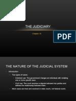 Ch. 16 - The Judiciary (Class)