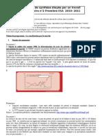 question de synthèse marché du pétrole 2010-2011