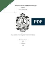 Plan de redacción del texto expositivo_2019-II
