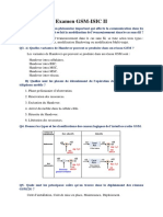 Examen GSM-ISIC