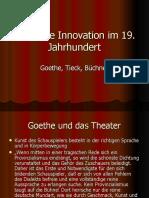 Theatrale Innovation im 19