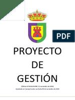 PROYECTO de GESTIÓN -Actualiz Nov19; Aprobado Nov20