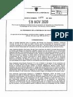 Decreto 1472 Del 18 de Noviembre de 2020