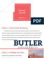 peters  forever journal